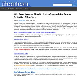 Why Every Inventor Should Hire Professionals For Patent Protection Filling Servi
