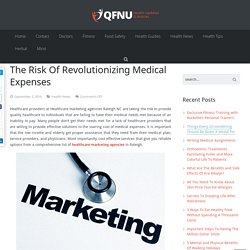 Healthcare Professionals Assume The Risk Of Revolutionizing Medical Expenses