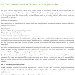 Tips from Professionals to Grow Your Brand in the Targeted Market