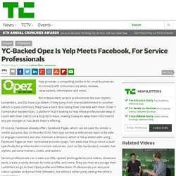 YC-Backed Opez Is Yelp Meets Facebook, For Service Professionals