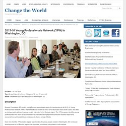 Change the World » 2015-16 Young Professionals Network (YPN) in Washington, DC