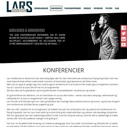 Professionel og Energisk Konferencier til Events og Shows