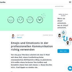 Emojis in der professionellen Kommunikation richtig verwenden