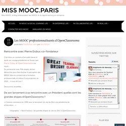 Les MOOC professionnalisants d'OpenClassrooms