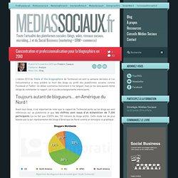 Concentration et professionnalisation pour la blogosphère en 2010