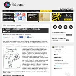 8 étapes pour créer un blog professionnel efficace