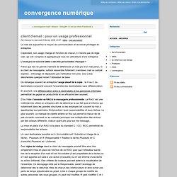 client d'email : pour un usage professionel - convergence numéri