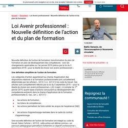 Loi Avenir professionnel : Nouvelle définition de l'action et du plan de formation - UIMM LYON - FRANCE