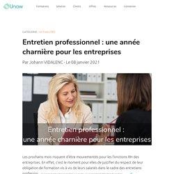 Entretien professionnel : une année charnière pour les entreprises