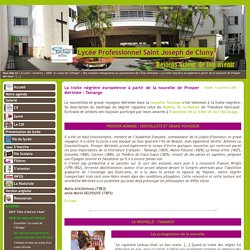 Lycée Professionnel Saint Joseph de Cluny - La traite négrière européenne à partir de la nouvelle de Prosper Mérimée : Tamango