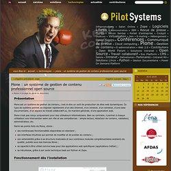 Plone : un système de gestion de contenu professionnel open source