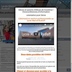 Bac professionnel MELEC – Lycée Marcel Rudloff