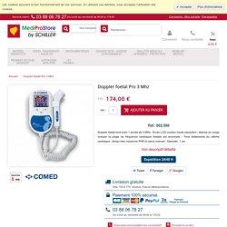 Doppler foetal professionnel avec écran couleur et sonde 3 Mhz - Mediprostore.com