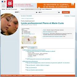 Lycée professionnel Pierre et Marie Curie Bolbec, 76, Seine-Maritime