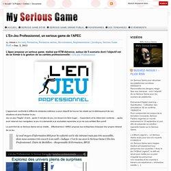 L'En-Jeu Professionnel, un serious game de l'APEC