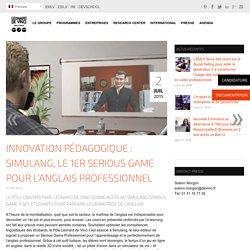 Innovation pédagogique : Simulang, le 1er Serious Game pour l'Anglais Professionnel - Pôle Universitaire Léonard de Vinci