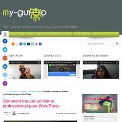 Comment trouver un thème professionnel pour WordPress