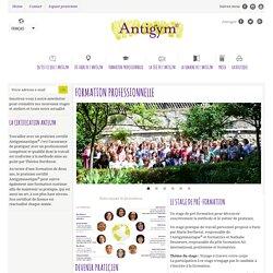 Formation professionnelle - Antigymnastique