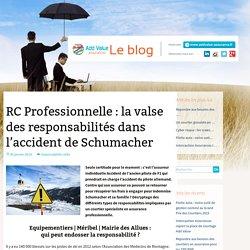 RC Professionnelle : la valse des responsabilités dans l'accident de Schumacher