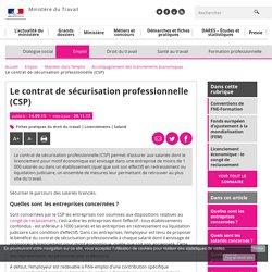 Le contrat de sécurisation professionnelle (CSP) - Accompagnement des licenciements économiques