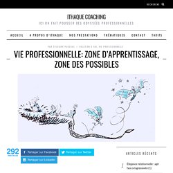 Zone d'apprentissage, zone des possibles