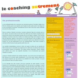 Le coaching autrement