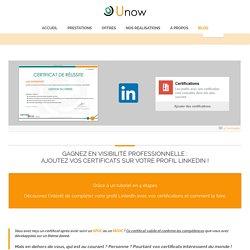 Gagnez en visibilité professionnelle : ajoutez vos certificats sur votre profil LinkedIn !