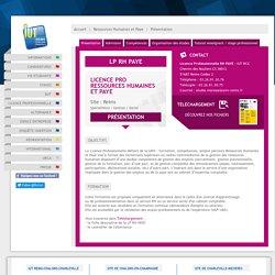 Licence Professionnelle Ressources Humaines et Paye (RH PAYE) : Licence Pro Ressources Humaines et Paye - IUT Reims / Châlons / Charleville
