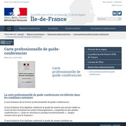 La préfecture et les services de l'État en région Île-de-France
