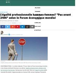 """L'égalité professionnelle hommes-femmes? """"Pas avant 2186"""" selon le Forum économique mondial"""