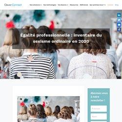 Égalité professionnelle : inventaire du sexisme ordinaire en 2020