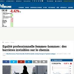 Egalité professionnelle femmes-hommes : des barrières invisibles sur le chemin