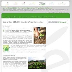Les jardins d'IDéES, chantier d'insertion professionnelle - Montbéliard - Belfort - Baume-les-Dames