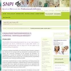 Syndicat national des professionnels infirmiers (SNPI-CFE-CGC)