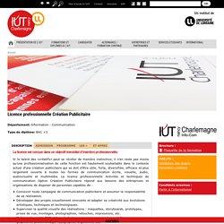 Licence professionnelle Création Publicitaire