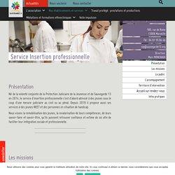 Service d'insertion professionnelle jeunes - sauvegarde13
