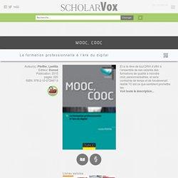 MOOC, COOC : La formation professionnelle à l'ère du digital - ScholarVox Management