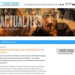 Rencontres Professionnelles sur l'entrepreneuriat culturel et créatif