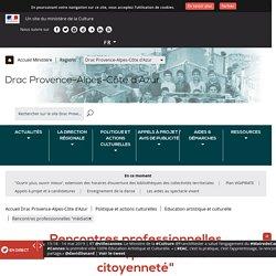 """Rencontres professionnelles """"médiation, patrimoine et citoyenneté"""""""