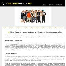Aissa Hamada : ses ambitions professionnelles et personnelles - qui-sommes-nous.eu