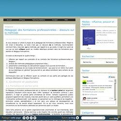 Pédago.format° pro. (Belgique)