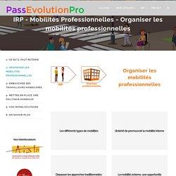 IRP : Mobilités Professionnelles : Organiser les mobilités professionnelles