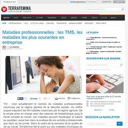 Maladies professionnelles : les TMS, les maladies les plus courantes en entreprise