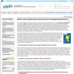 Actualités 2014 -Quelles sont les pratiques des professionnels de l'accompagnement des jeunes ?