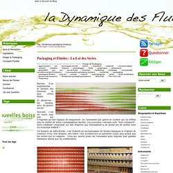 Tag - tendances packaging boissons - La Dynamique des Fluides, le blog de l'innovation Boissons, pour les professionnels de l'agroalimentaire