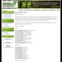 Association de Professionnels de Santé pour une Alimentation Responsable