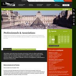 Professionnels & associations