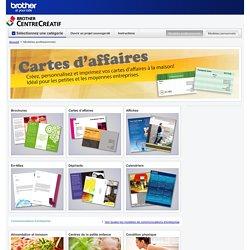 Modèles professionnels de cartes d'affaires, de brochures et d'affiches gratuits, prêts à imprimer