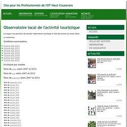 Site pour les Professionnels de l'OT Haut-Couserans - OT Massat - Pyrénées - France