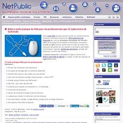 Boite à outils pratique du Web pour les professionnels (par le Cybercentre de Guérande)